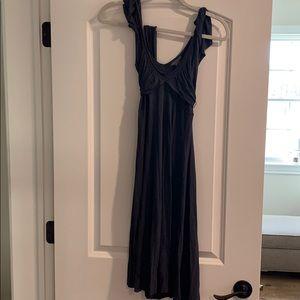 Armani exchange wrap dress